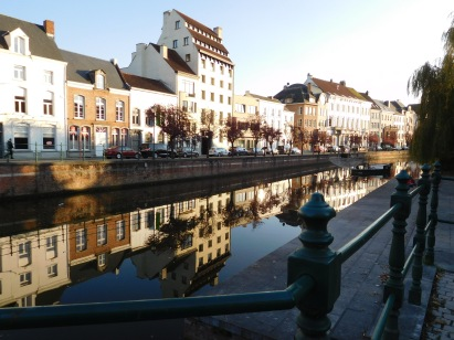 Waterside in Mechelen